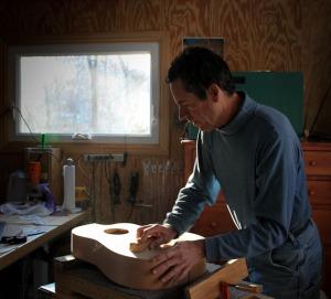 Jay Lichty at work.