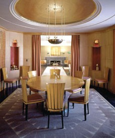 Interior Formal Dining Room, Saarinen House